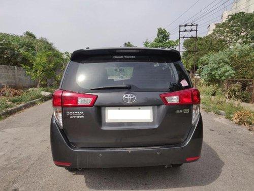 Toyota Innova Crysta 2.8 GX AT 8S BSIV 2016 AT in Bangalore