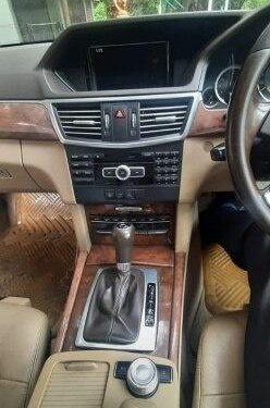 Used Mercedes Benz E Class 2012 MT for sale in Pune