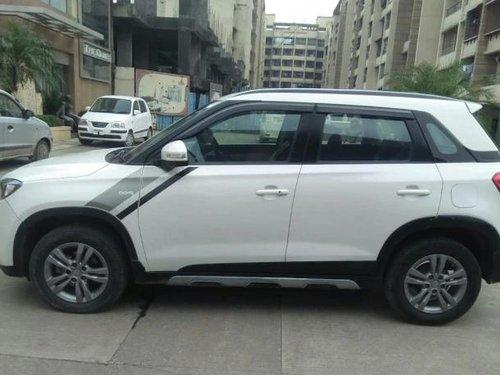 Used Maruti Suzuki Vitara Brezza 2017 MT for sale in Thane