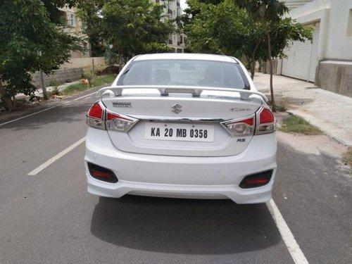 Maruti Suzuki Ciaz RS ZXi Plus 2016 MT for sale in Bangalore