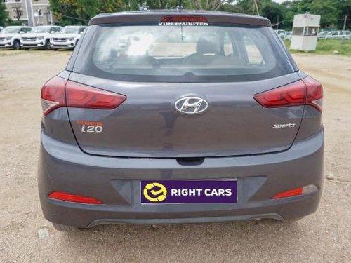 2017 Hyundai i20 Sportz 1.2 MT for sale in Hyderabad