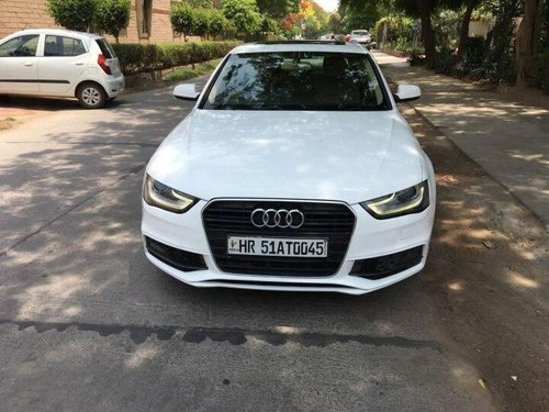 Used Audi A4 35 TDI Premium 2012 AT for sale in Faridabad