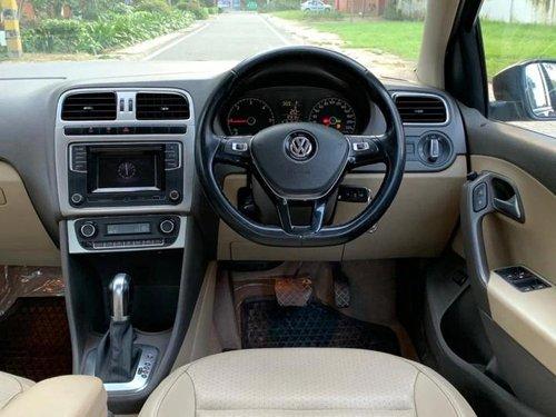 Used 2017 Volkswagen Vento AT for sale in New Delhi