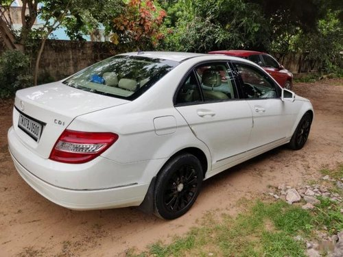 Mercedes Benz C-Class C 250 CDI Elegance 2010 AT for sale in Chennai