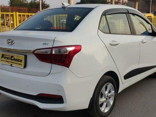 Hyundai Xcent 1.2 VTVT SX Option 2017 MT for sale in Faridabad