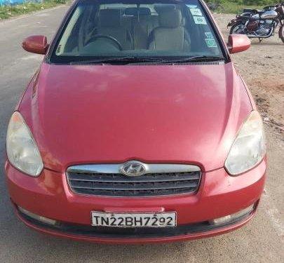 Used 2009 Hyundai Verna MT for sale in Chennai