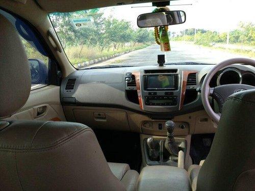 2011 Toyota Fortuner 3.0 Diesel MT for sale in Hyderabad