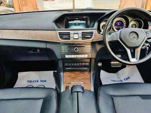 Used Mercedes Benz E Class 2017 AT for sale in Ahmedabad