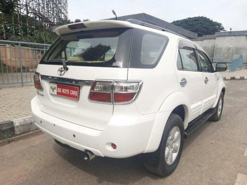 2010 Toyota Fortuner 4x4 MT for sale in Bangalore