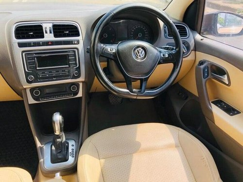 2016 Volkswagen Vento 1.5 TDI Highline AT for sale in Ahmedabad
