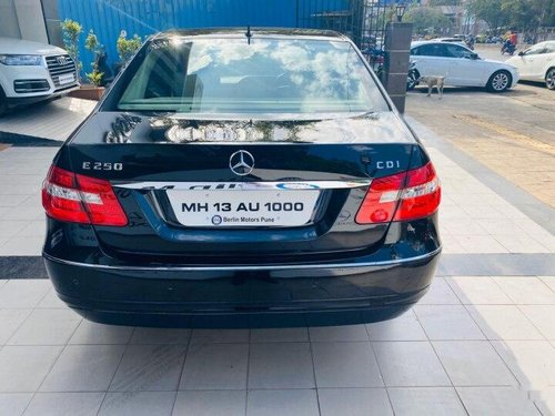 Used Mercedes Benz E Class 2010 AT for sale in Pune