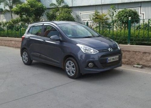 2017 Hyundai Grand i10 1.2 Kappa Sportz BSIV MT in Bangalore