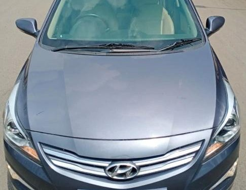 2015 Hyundai Verna SX Diesel MT for sale in Thane