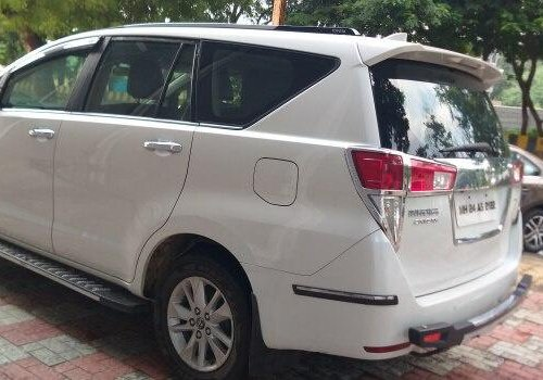 Used 2017 Toyota Innova Crysta 2.4 G MT for sale in Nashik