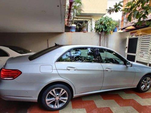 2015 Mercedes-Benz E-Class E250 CDI Avantgarde AT in Bangalore