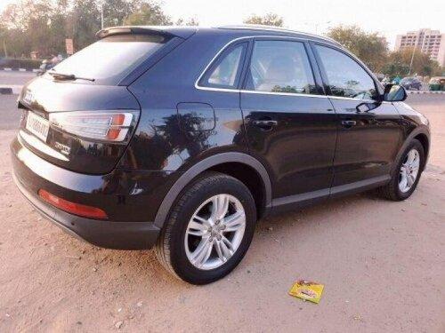 Audi Q3 30 TDI Premium FWD 2015 AT for sale in Ahmedabad
