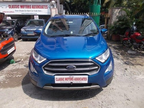 Used 2018 Ford EcoSport 1.5 Petrol Titanium AT for sale in Mumbai