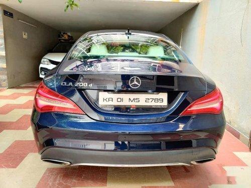 2018 Mercedes-Benz CLA 200 CDI Sport AT in Bangalore