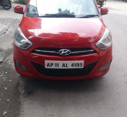 Used Hyundai i10 Sportz 1.2 2011 MT for sale in Hyderabad