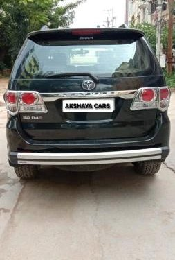 Used Toyota Fortuner 3.0 Diesel 2014 MT for sale in Hyderabad