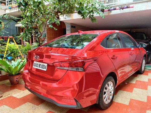 Used Hyundai Verna 2018 AT for sale in Bangalore
