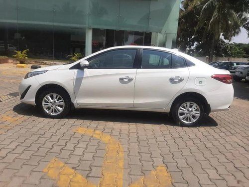 Used Toyota Yaris VX CVT 2018 AT for sale in Bangalore