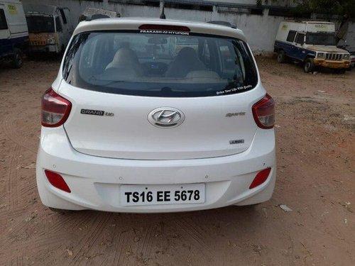 Hyundai Grand i10 CRDi Sportz 2015 MT for sale in Hyderabad