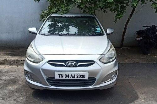 Hyundai Verna SX Opt AT Diesel 2012 AT for sale in Chennai -3
