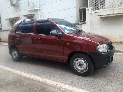 Used Maruti Suzuki Alto LXi BSIII 2009 MT for sale in Bangalore