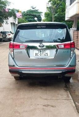 Used Toyota Innova Crysta 2.4 ZX AT 2017 AT for sale in Chennai
