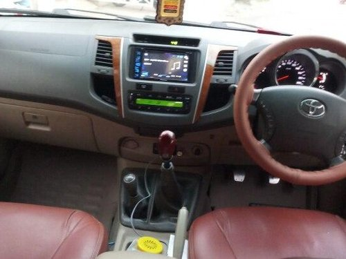 Used Toyota Fortuner 2011 MT for sale in Hyderabad