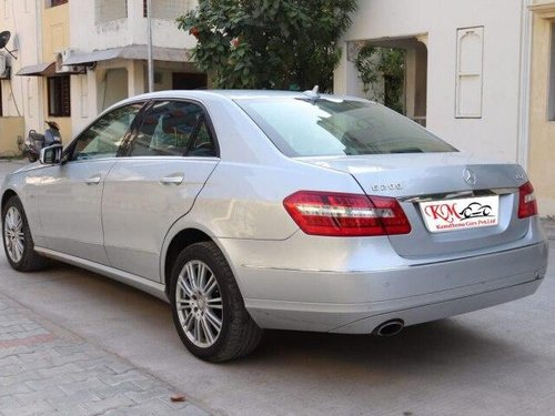 Used 2011 Mercedes Benz E Class AT for sale in Ahmedabad