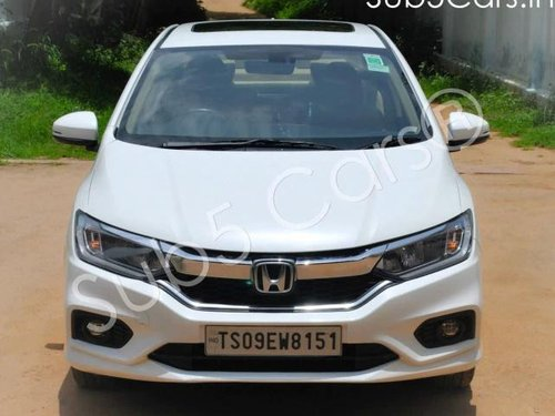 Used Honda City 2017 AT for sale in Hyderabad