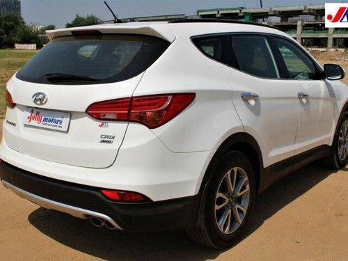 Used Hyundai Santa Fe 2014 AT for sale in Ahmedabad