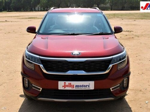 Used Kia Seltos 2020 AT for sale in Ahmedabad