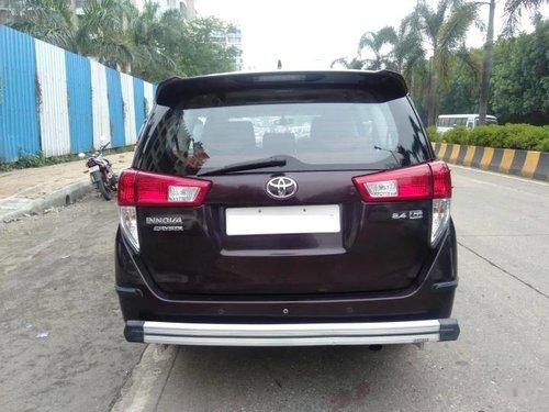 Toyota Innova Crysta 2.4 G MT 8 STR 2017 MT for sale in Mumbai
