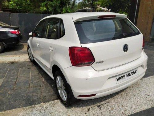 Volkswagen Polo 1.2 MPI Highline 2016 MT for sale in Faridabad