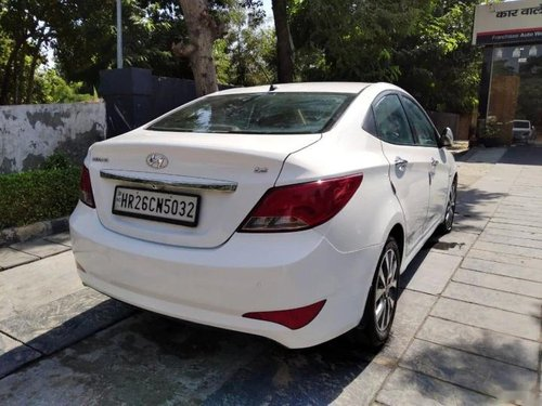 Used 2015 Hyundai Verna MT for sale in Faridabad