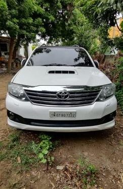 Used Toyota Fortuner 2012 MT for sale in Chennai -10