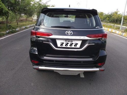 Used Toyota Fortuner 2019 MT for sale in Hyderabad