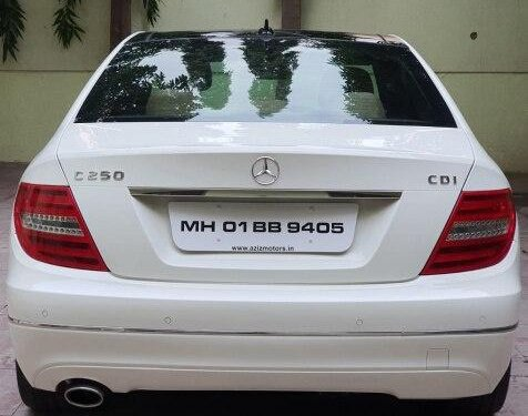 Mercedes-Benz C-Class C 250 CDI Avantgarde 2012 AT for sale in Pune