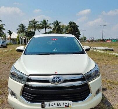 Used 2017 Toyota Innova Crysta 2.4 VX MT for sale in Nashik