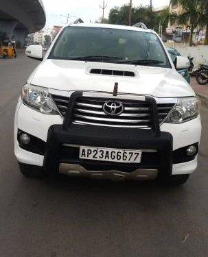 2012 Toyota Fortuner 2.8 4WD BSIV MT in Hyderabad