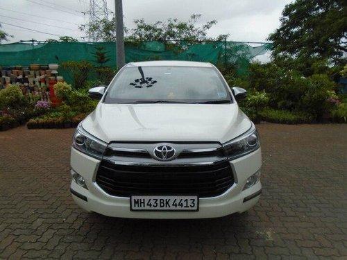 Toyota Innova Crysta 2.4 ZX 2017 MT for sale in Mumbai