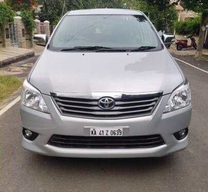 Used 2012 Toyota Innova MT for sale in Bangalore