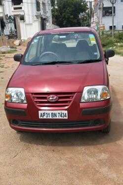 Used Hyundai Santro Xing GLS 2011 MT for sale in Hyderabad