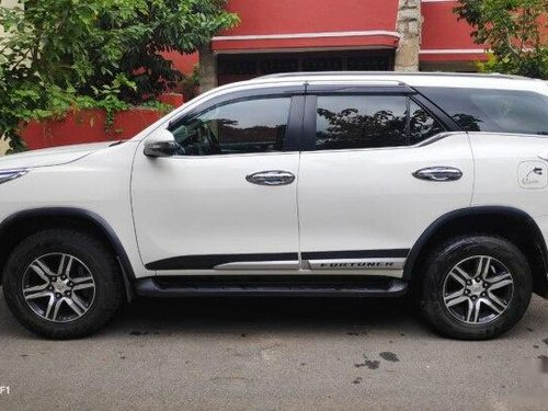 Used Toyota Fortuner 2.8 2WD MT 2018 MT for sale in Bangalore