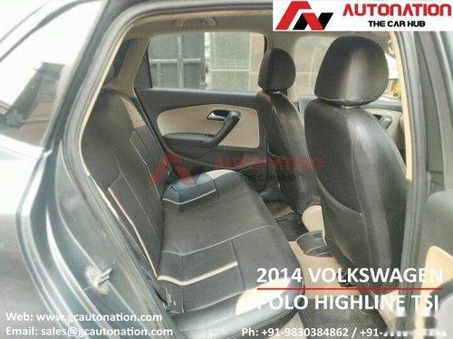 Used Volkswagen Polo 2014 MT for sale in Kolkata