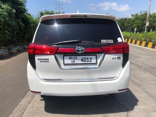 2017 Toyota Innova Crysta 2.4 VX MT for sale in Mumbai