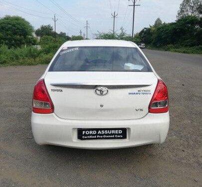 2012 Toyota Platinum Etios MT for sale in Aurangabad